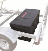Malone MegaSport Trailer Plastic Storage Trunk w/Mounting Hardware