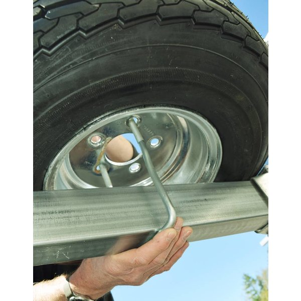 MegaSport Spare Tire w/ Locking Attachment