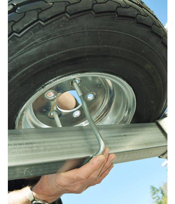 Malone MegaSport Spare Tire w/ Locking Attachment