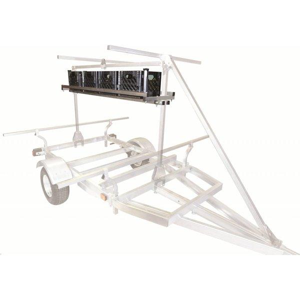 MegaSport Milk Crate Cage w/ Mounting Hardware