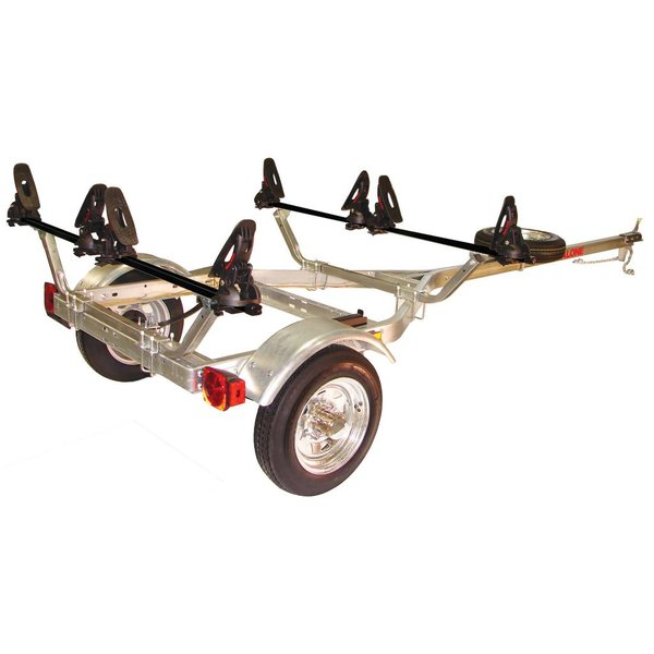 MicroSport Trailer, 1-Spare Tire Kit, 2-Saddle Up Pro