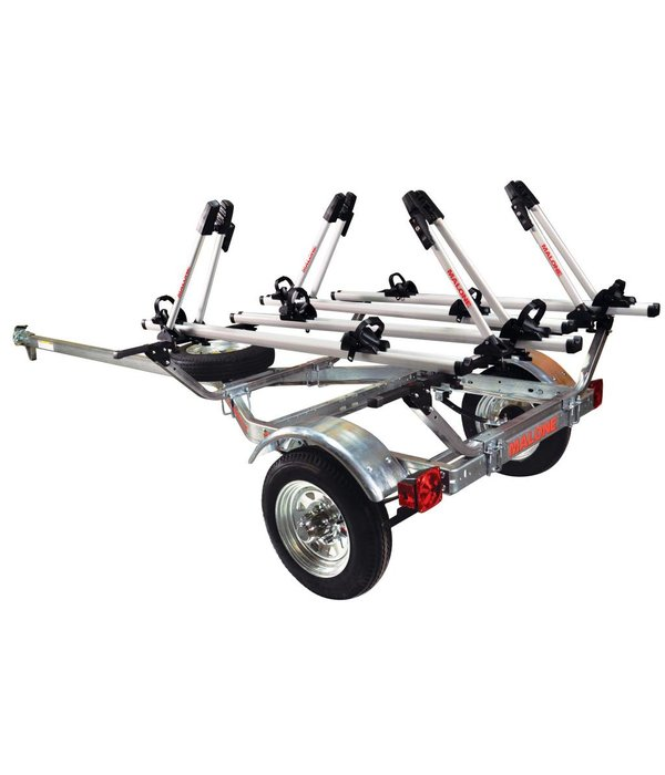 Malone MicroSport Trailer, 1-Spare Tire Kit, 4 - Tray Style Bike Racks
