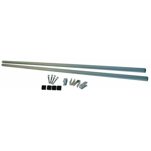 86'' HD 1.25'' Galvanized Cross Bars With Mounting Hardware