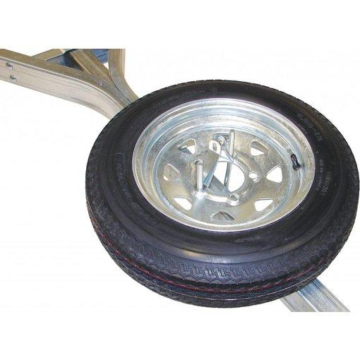 Malone 12'' Galvanized Spare Tire w/ Locking Attachment