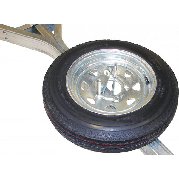 12'' Galvanized Spare Tire With Locking Attachment