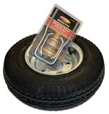 Malone 8'' Galvanized Spare Tire w/ Locking Attachment