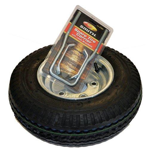 Malone 8'' Galvanized Spare Tire With Locking Attachment