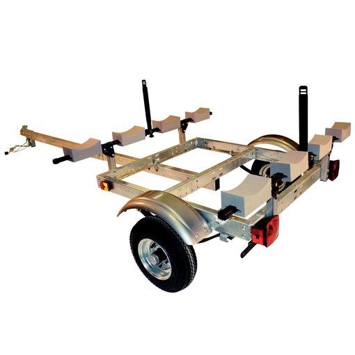 Malone XtraLight 4 Kayak Package (1 Stacker & 4 sets foam blocks)