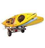 Malone XtraLight 4 Kayak Package (1 Stacker & 4 sets foam blocks)