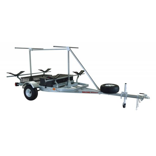 Malone MegaSport 2-Boat Trailer w/ MegaWing & 2nd Tier