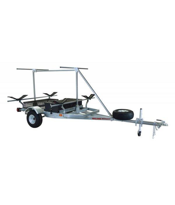 Malone MegaSport 2-Boat Trailer With MegaWing & 2nd Tier