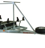 Malone MegaSport 2-Boat Trailer With Saddle Up Pro & 2nd Tier