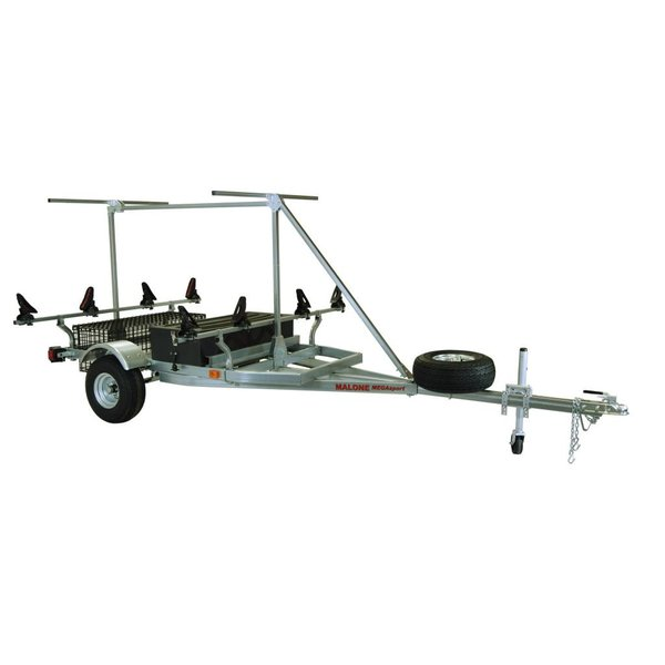 MegaSport 2-Boat Trailer w/ Saddle Up Pro & 2nd Tier