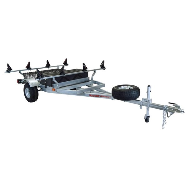 MegaSport 2-Boat Trailer With Saddle Up Pro