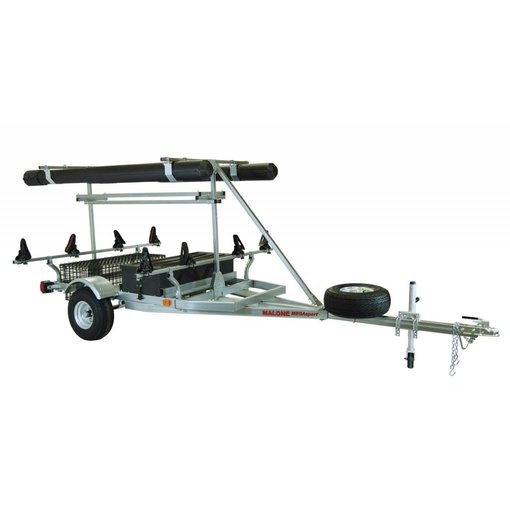 Malone MegaSport 2-Boat Ultimate Angler Package w/ Saddle Up Pro