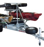 Malone MegaSport 2-Boat Ultimate Angler Package w/ Saddle Up Pro