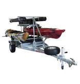 Malone MegaSport 2-Boat Ultimate Angler Package With Saddle Up Pro
