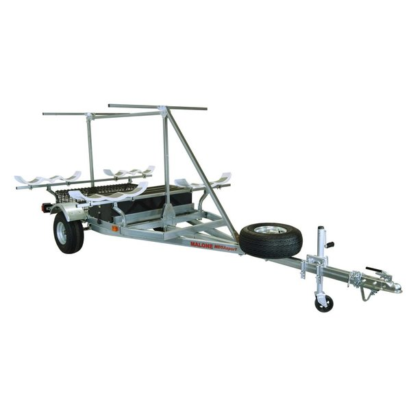 MegaSport 2-Boat Trailer for Hobie PA & 2nd Tier