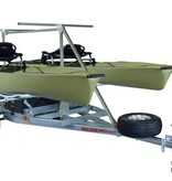 Malone MegaSport 2-Boat Trailer for Hobie PA & 2nd Tier