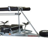 Malone MegaSport 2-Boat Ultimate Angler Package With MegaWing