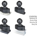 RAM Mounts® 1 1/2'' Ball Quick Track Base