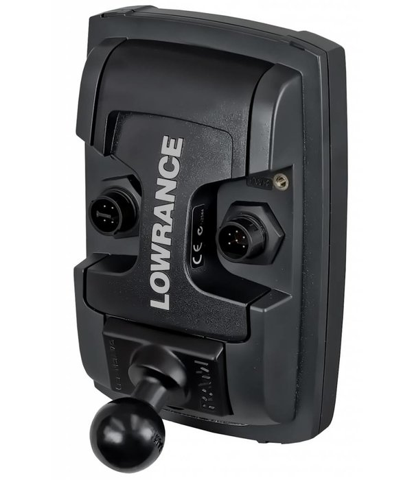 """RAM Mounts® Quick Release Adapter with B Size 1"""" Ball for """"LIGHT USE"""" Lowrance Elite-4 & Mark-4 Series Fishfinders"""