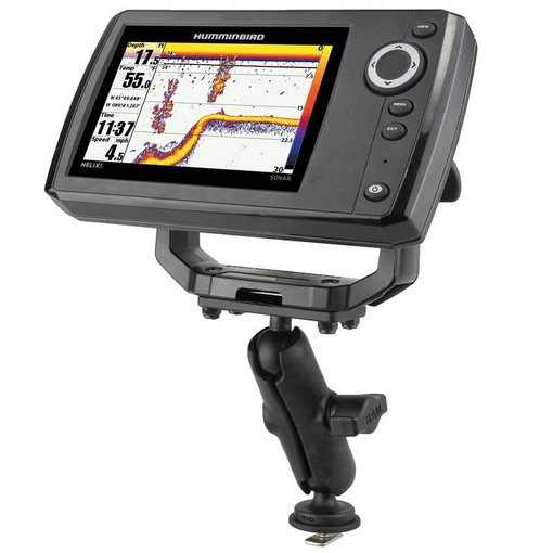 """1"""" Ball Mount with Track Ball™ Base & 1.5"""" x 3"""" Plate for the Humminbird Helix 5 ONLY"""
