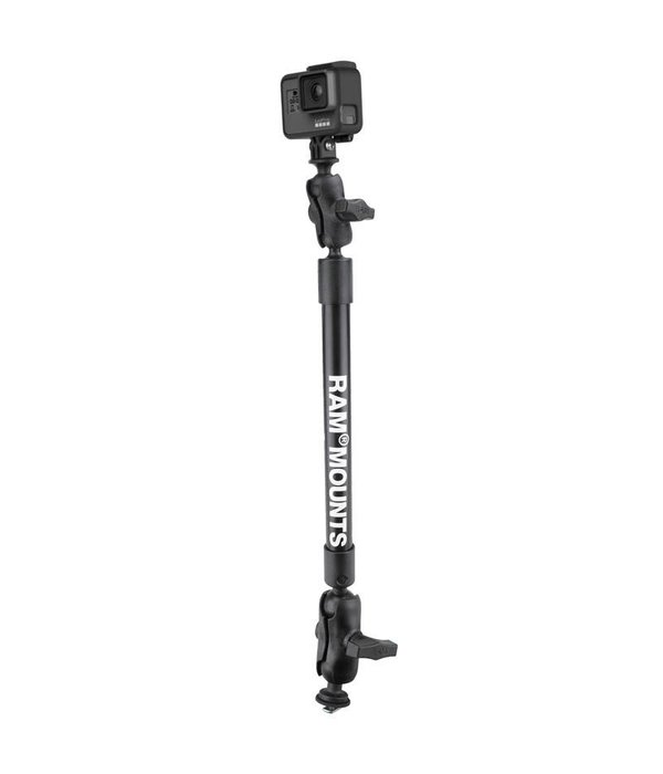 "RAM Mounts® 12"" Tough-Pole™ Camera Mount with Track Ball™ Base"