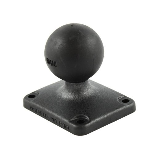 "RAM Mounts® 2"" x 2.5"" Composite Rectangle Base with C Size 1.5"" Ball"