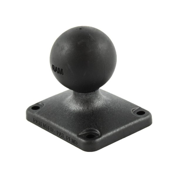 """2"""" x 2.5"""" Composite Rectangle Base with C Size 1.5"""" Ball"""