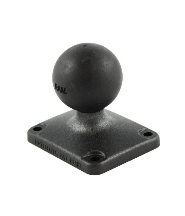 """RAM Mounts® 2"""" x 2.5"""" Composite Rectangle Base with C Size 1.5"""" Ball"""