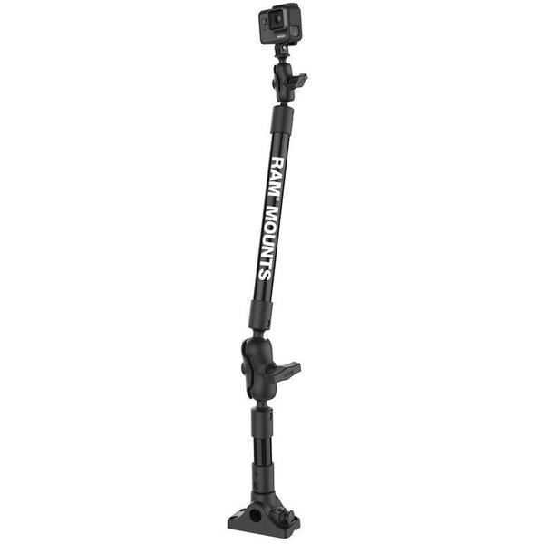 "29"" Tough-Pole™ Camera Mount with Bulkhead/Flat Surface Base"