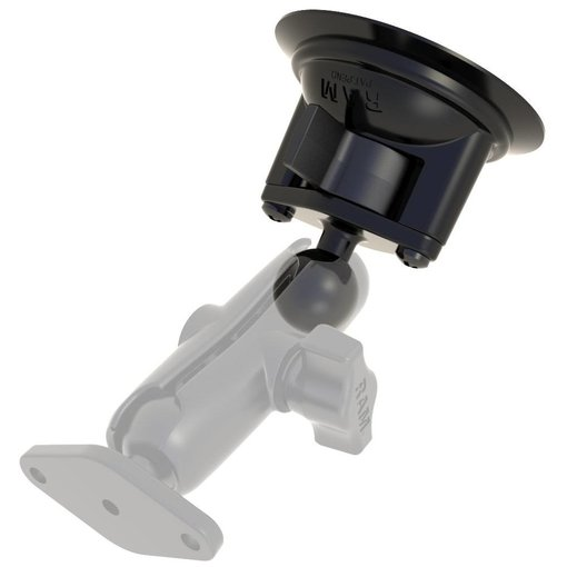 "RAM Mounts® 3.3"" Diameter Suction Cup Base with B Size 1"" Ball"
