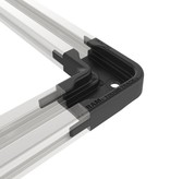 RAM Mounts® 90 Degree Connector for Top-Loading Aluminum Tough-Track™