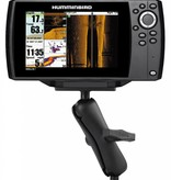 """RAM Mounts® 1.5"""" Ball Mount with 2.5"""" Round Base & 2"""" x 4"""" Plate for the Humminbird Helix 7 ONLY"""