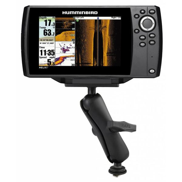 """1.5"""" Ball Mount with Track Ball™ Base & 2"""" x 4"""" Plate for the Humminbird Helix 7 ONLY"""