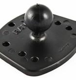 "RAM Mounts® Marine Electronic Adapter Base with 1"" Ball for the Eagle Cuda, FishEasy, Humminbird Piranha & Lowrance X-4"