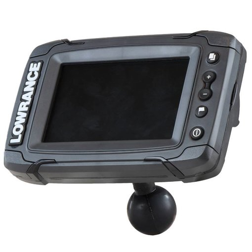 "Lowrance Ouick Release Adapter Elite-5, Mark-5, Hook-5 & Elite 7 Ti Fishfinders - C Size 1.5"" Ball"