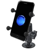 RAM Mounts® Flex Adhesive Mount with Universal X-Grip® Cell Phone Cradle