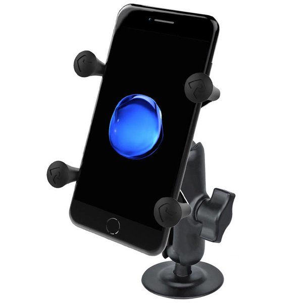 Flex Adhesive Mount with Universal X-Grip® Cell Phone Cradle