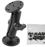 "RAM Mounts® Flat Surface Marine Electronic ""LIGHT USE"" Mount for the Garmin Striker 4 Series"
