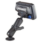 "RAM Mounts® C Size 1.5"" Ball Marine Electronic ""RUGGED USE"" Mount for Lowrance Elite-5, Mark-5, Hook-5 & Elite 7 Ti Fishfinders"