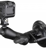RAM Mounts® Twist-Lock™ Suction Cup Mount with Custom GoPro® Hero Adapter