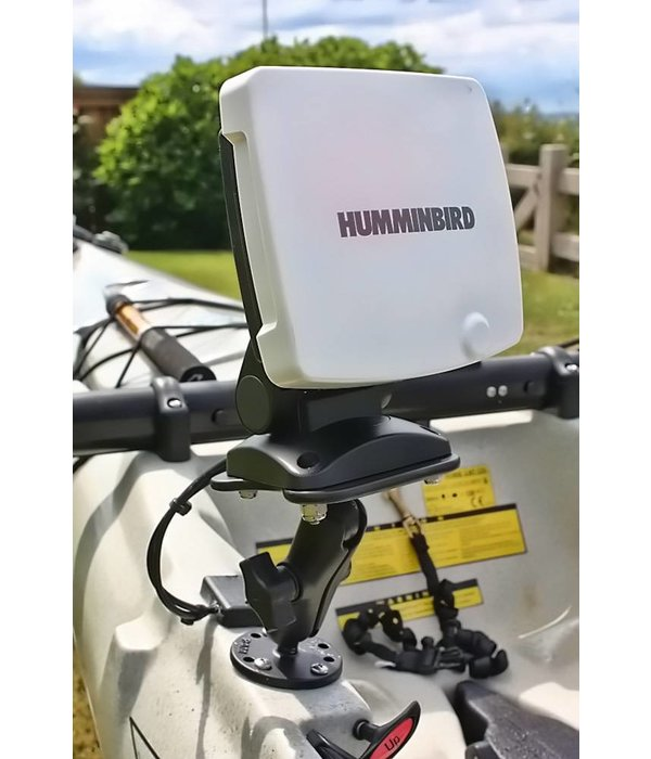 "RAM Mounts® 1"" Ball Marine Electronic ""LIGHT USE"" Mount for the Humminbird 100-700 Series, Matrix Series and Lowrance Elite-5 Series"