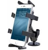 RAM Mounts® Flat Surface Mount with Universal Finger-Grip™ Cradle