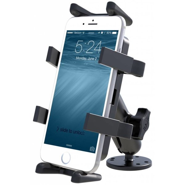Flat Surface Mount with Universal Finger-Grip™ Cradle