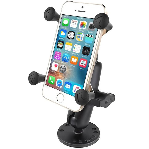 Flat Surface Mount with Universal X-Grip® Cell/iPhone Cradle