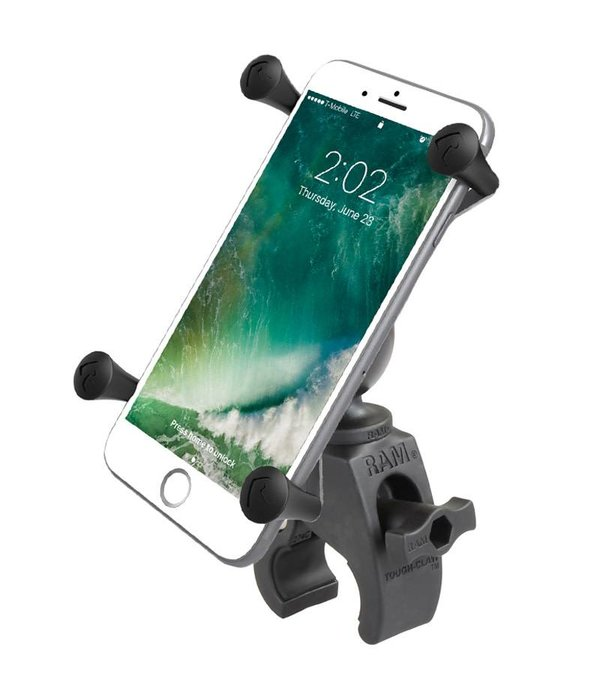 RAM Mounts® Tough-Claw™ Mount with Universal X-Grip® Large Phone Cradle