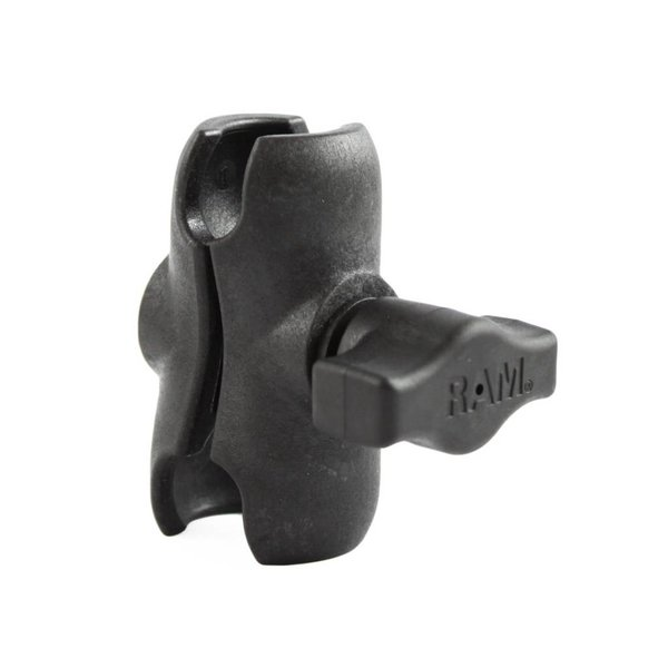 "Composite Short Double Socket Arm for 1"" Balls (23/8"" X 2)"