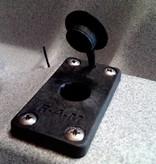 RAM Mounts® RAM-ROD® Flush Base for Spline Posts